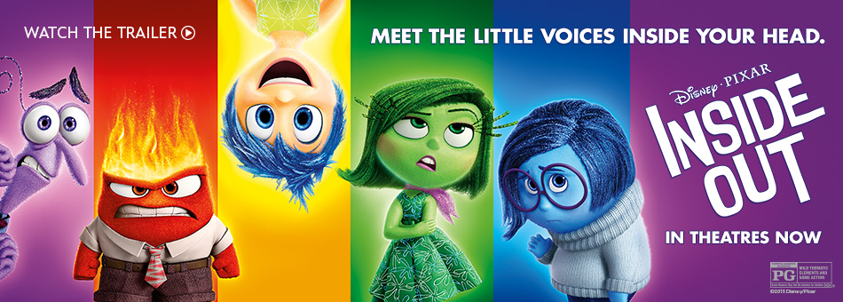 Meet the little voices inside your head disney pixar inside out in