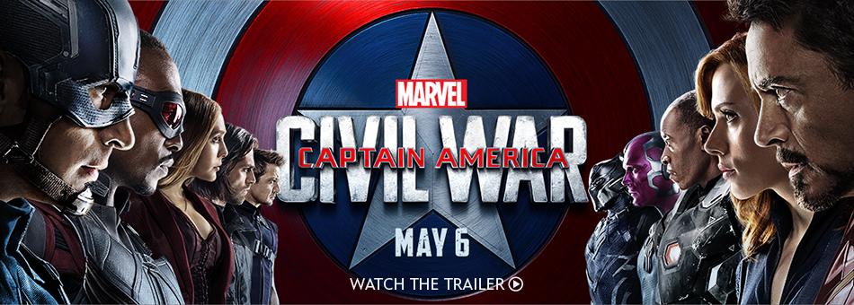 Marvel Captain America Civil War - May 6