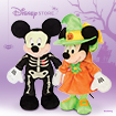 Spook up Your Halloween with a Mickey or Minnie Halloween Plush