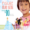 $10 Figure Play Sets at the Disney Store